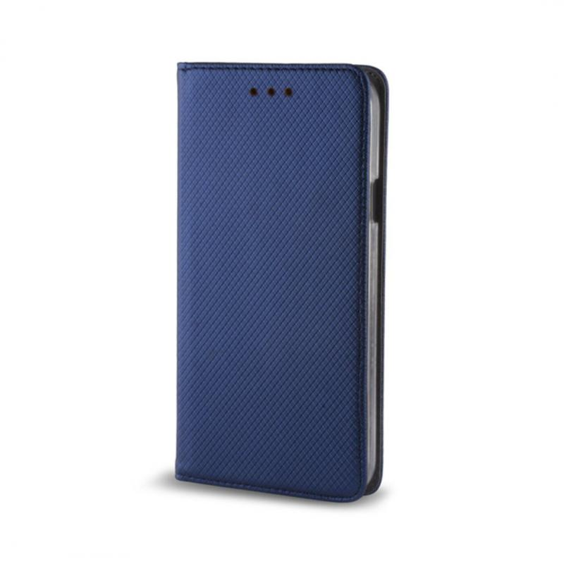 Pouzdro s magnetem Samsung J3 2017 J330 Dark Blue