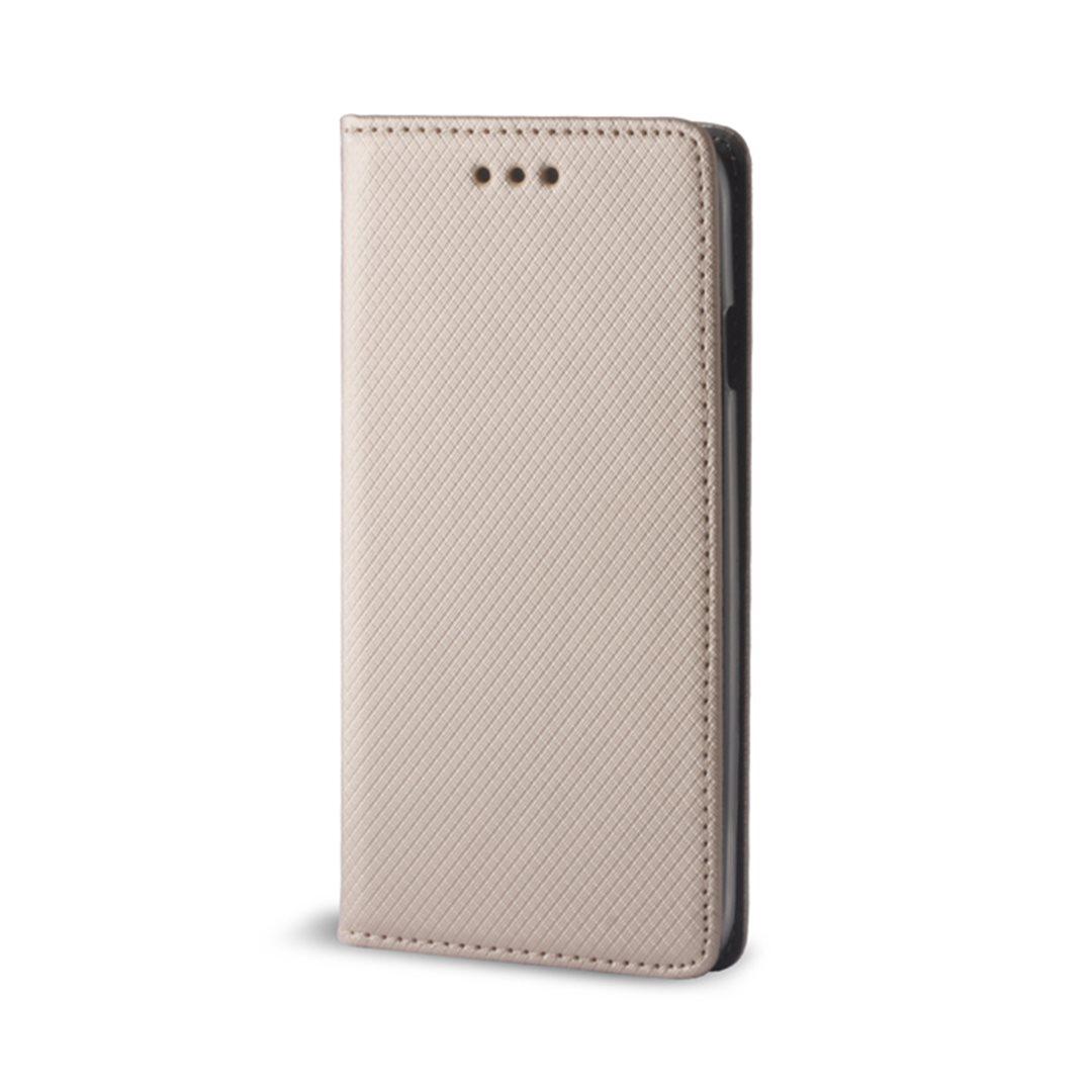Pouzdro s magnetem Samsung Galaxy A8 2018 gold