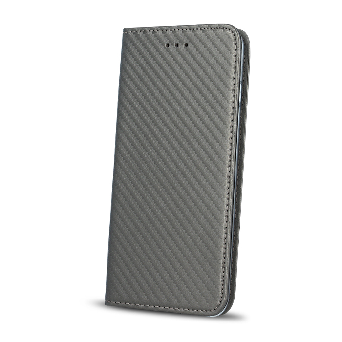 Smart Carbon pouzdro Samsung J3 2016 (J320) Steel