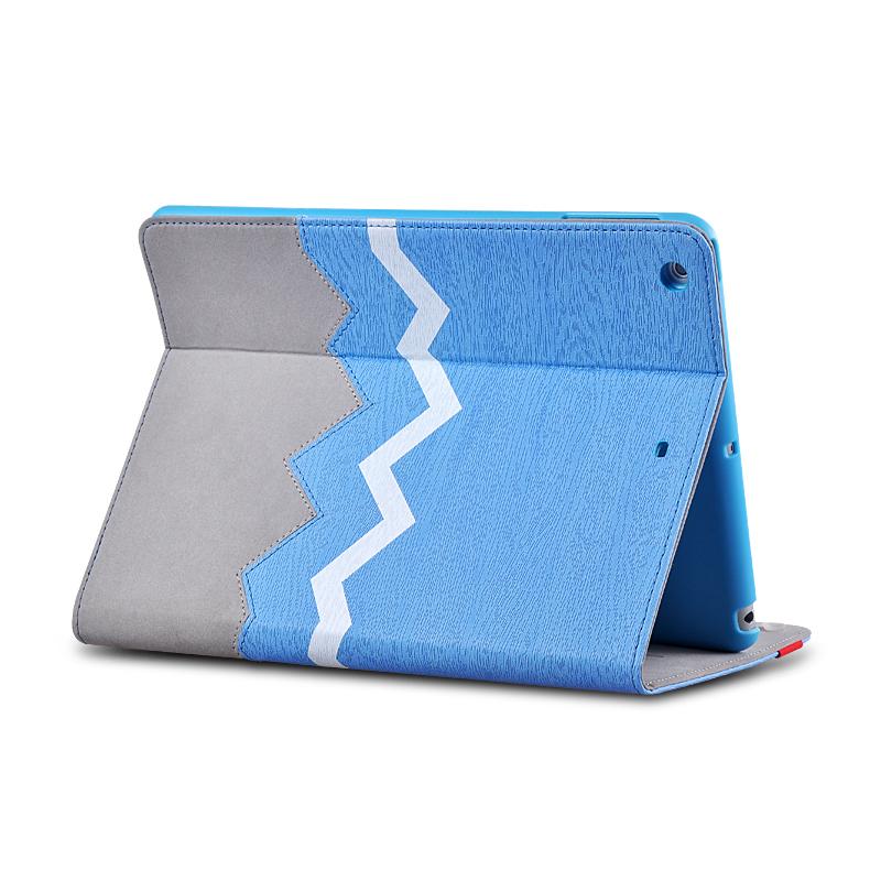 Ochranný obal na iPad AIR 2- Heartbeat - modrý
