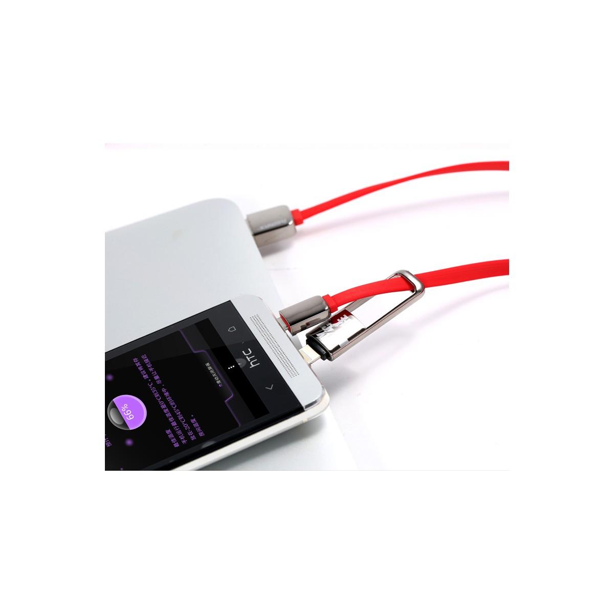 Datový kabel 2v1 , Micro USB - lightning konektor