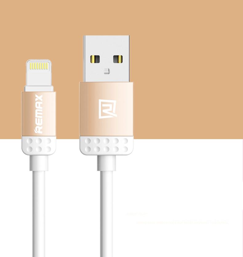 Datový kabel Lovely, iPhon 5/6, barva oranžová