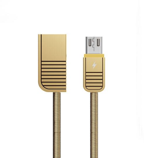 Remax RC-088m Linyo datový kabel micro USB,zlatý