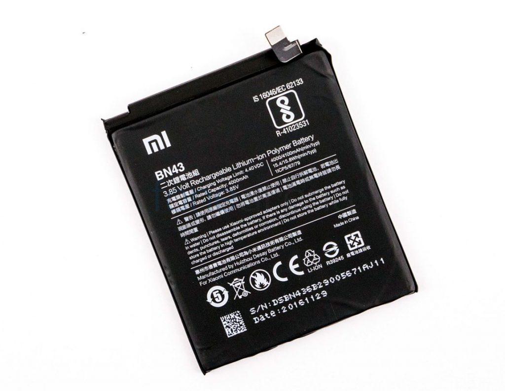 Xiaomi BN43 Original Baterie 4000mAh (Bulk)