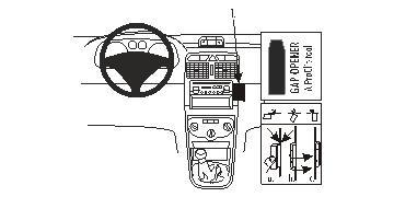 Brodit ProClip montážní konzole pro Peugeot 307