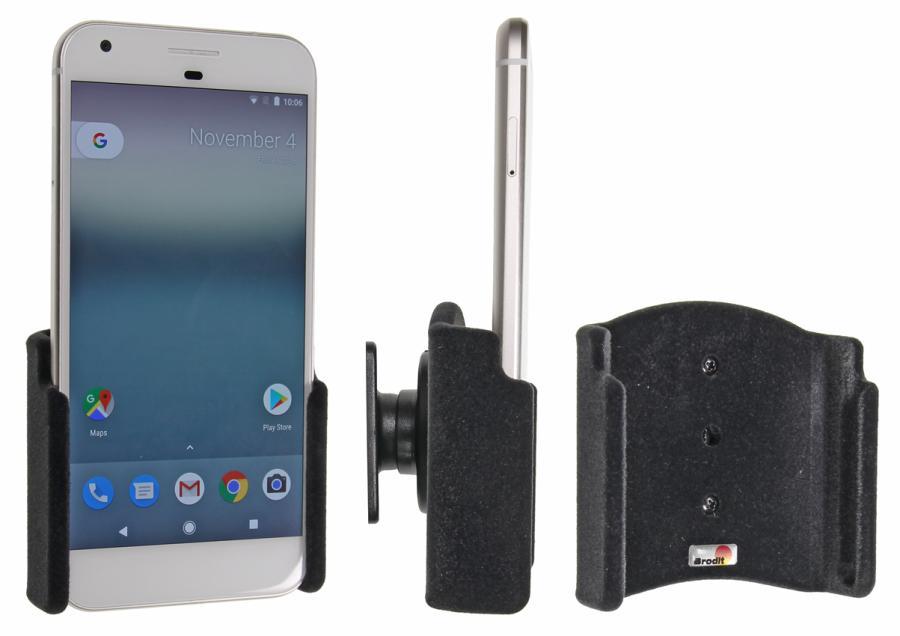Brodit držák do auta na Google Pixel 2 XL bez pouzdra, bez nabíjení, samet