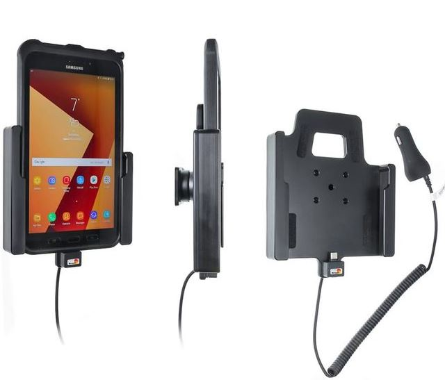 Brodit držák do auta na Samsung Galaxy Tab Active 2 / 3 v orig. pouzdře s nabíjením z CL