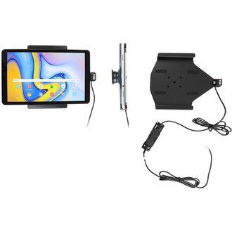 Brodit držák do auta na Samsung Galaxy Tab A 10.5 SM-T590/SM-T595d bez pouzdra, se skrytým nabíjením