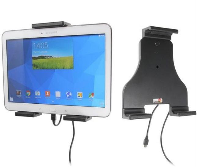 Brodit držák do auta na tablet nastavitelný, se skrytým nabíjením, 180-230mm