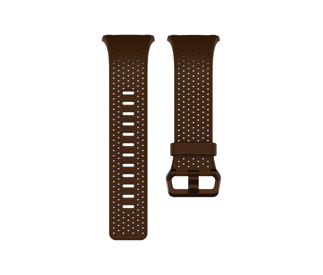 Fitbit Ionic řemínek Leather Cognac - Small