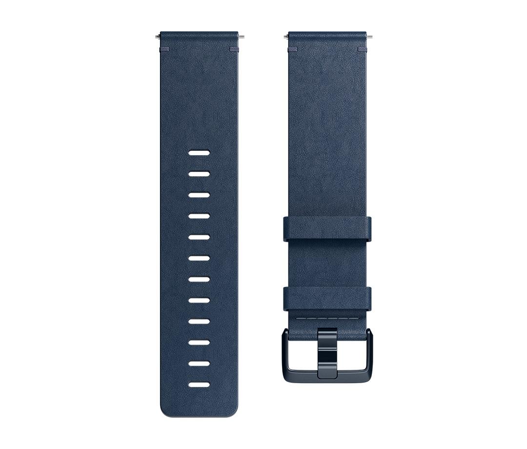 Fitbit Versa řemínek Leather Midnight Blue - Large