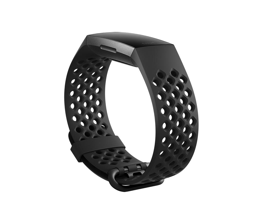 Fitbit Charge 3 sportovní řemínek Black Small
