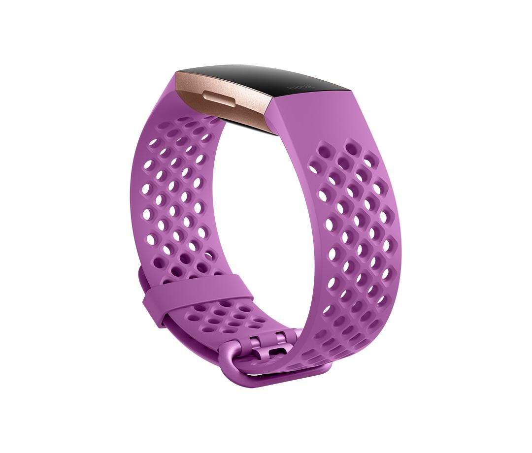 Fitbit Charge 3 sportovní řemínek Berry Large
