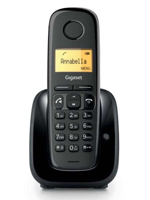 Gigaset DECT A280 Black - 4250366863252