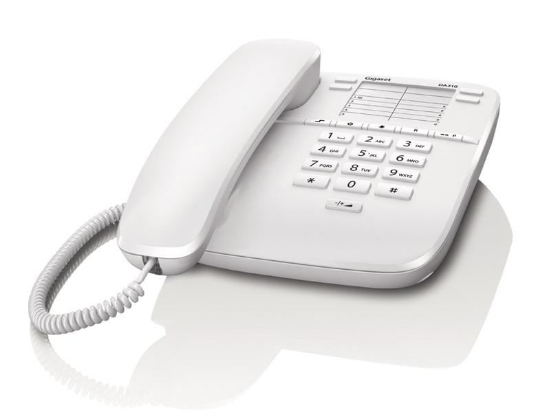 Gigaset DECT DA310 White - 4250366826127