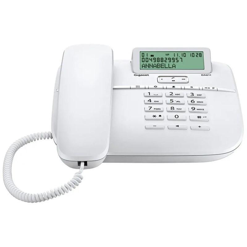 Gigaset DECT DA611 White - S30350-S212-R122