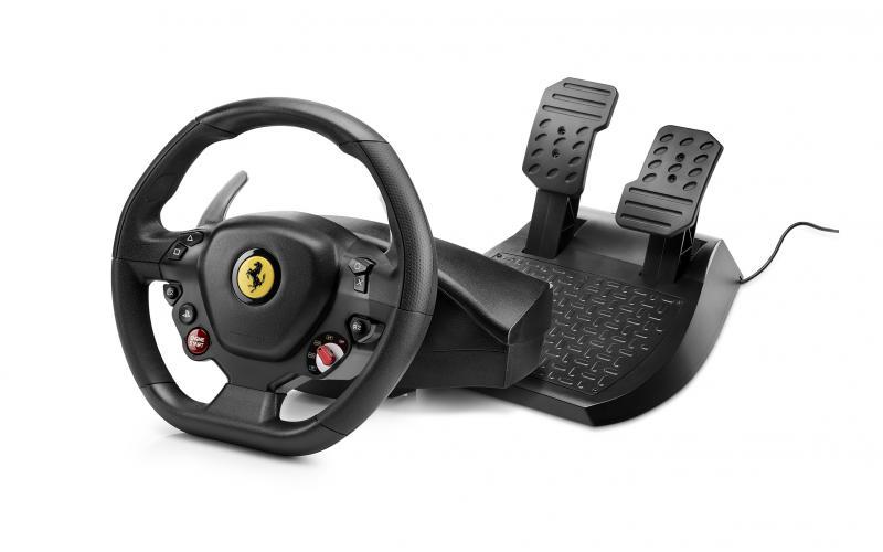 Thrustmaster Sada volantu a pedálů T80 Ferrari 488 GTB Edition pro PS4 a PC - 4160672