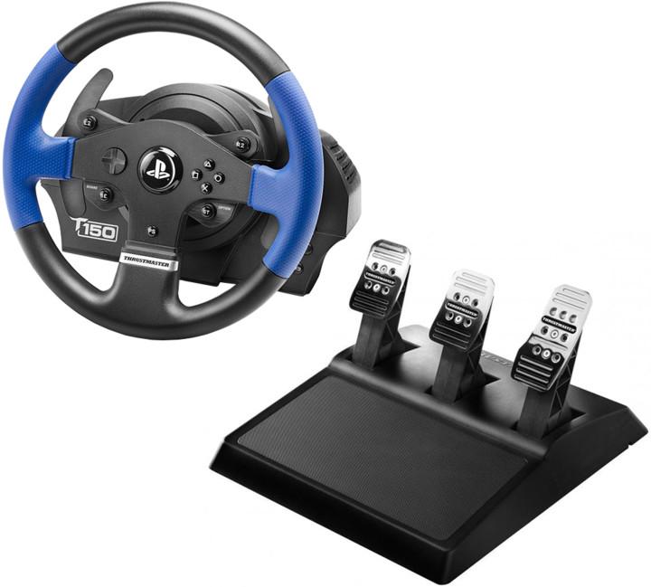 Thrustmaster Sada volantu T150 PRO a 3-pedálů T3PA pro PS4, PS3 a PC (4160696)