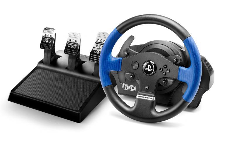 Thrustmaster Sada volantu T150 PRO a 3-pedálů T3PA pro PS4, PS3 a PC (4160696) - 4160696