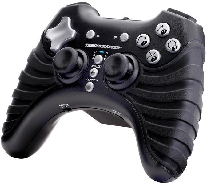 Thrustmaster Bezdrátový Gamepad 3 v 1 rumble force, pro PC, PS 2, PS 3