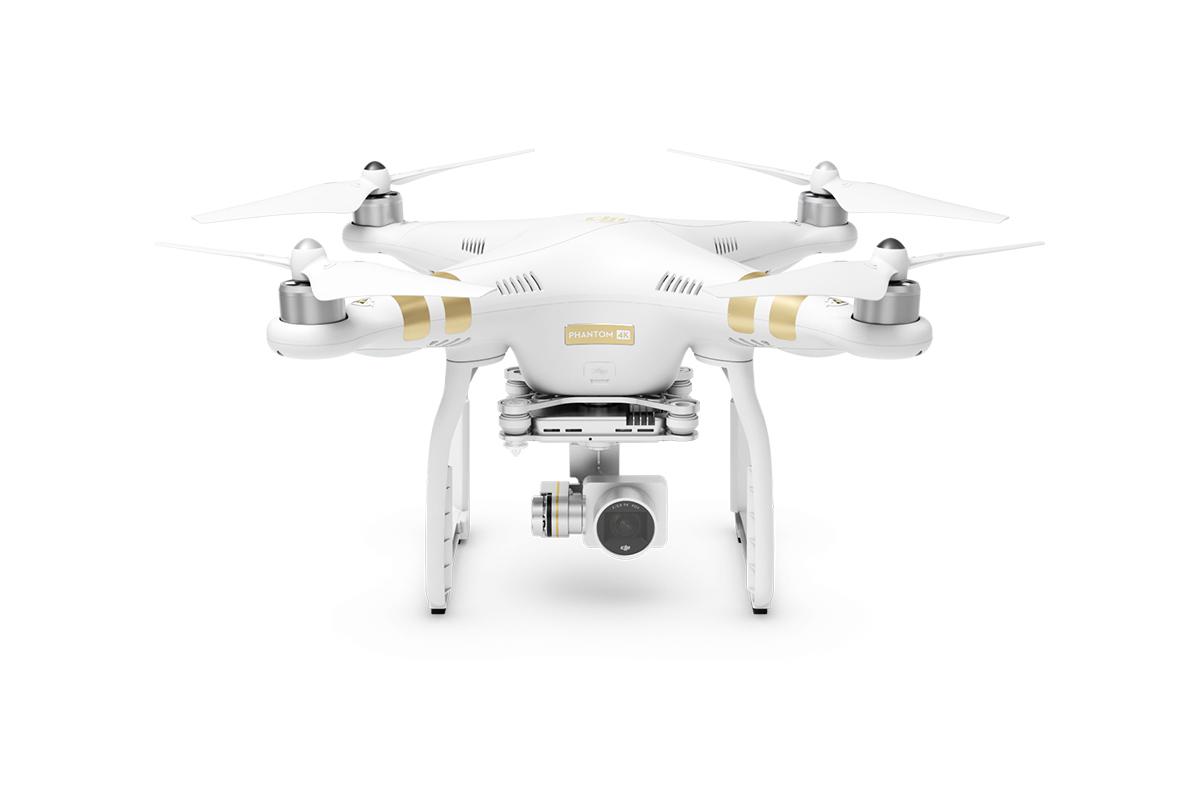 DJI kvadrokoptéra - dron, Phantom 3, 4K Ultra HD kamera
