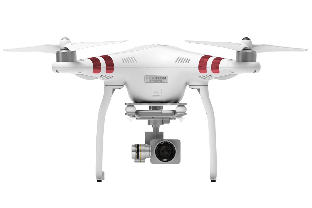 DJI kvadrokoptéra - dron, Phantom 3 Standard, 2,7K Ultra HD kamera