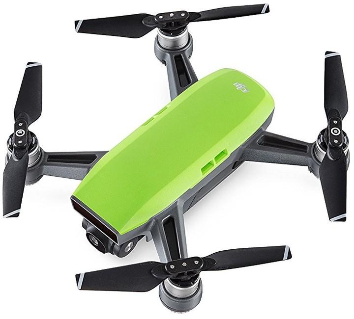 DJI kvadrokoptéra - dron, Spark, Full HD kamera, zelený