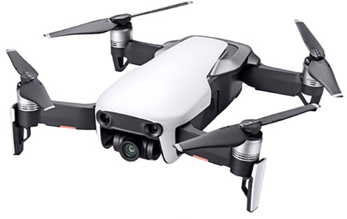 DJI kvadrokoptéra - dron, Mavic Air Fly More Combo, 4K kamera, bílý