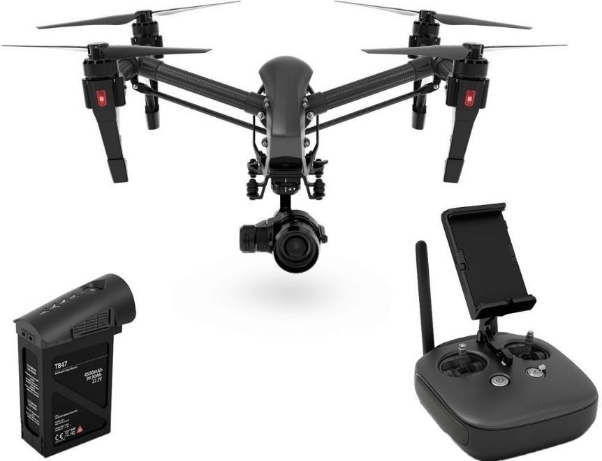 DJI kvadrokoptéra - dron, INSPIRE 1 Pro, RC set kvadrokoptéry se 4K kamerou, černá