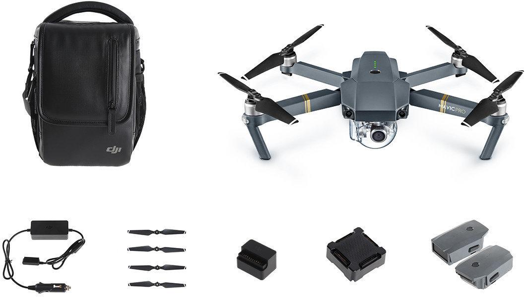 DJI kvadrokoptéra - dron, Mavic Pro Fly More Combo, 4K Full HD kamera