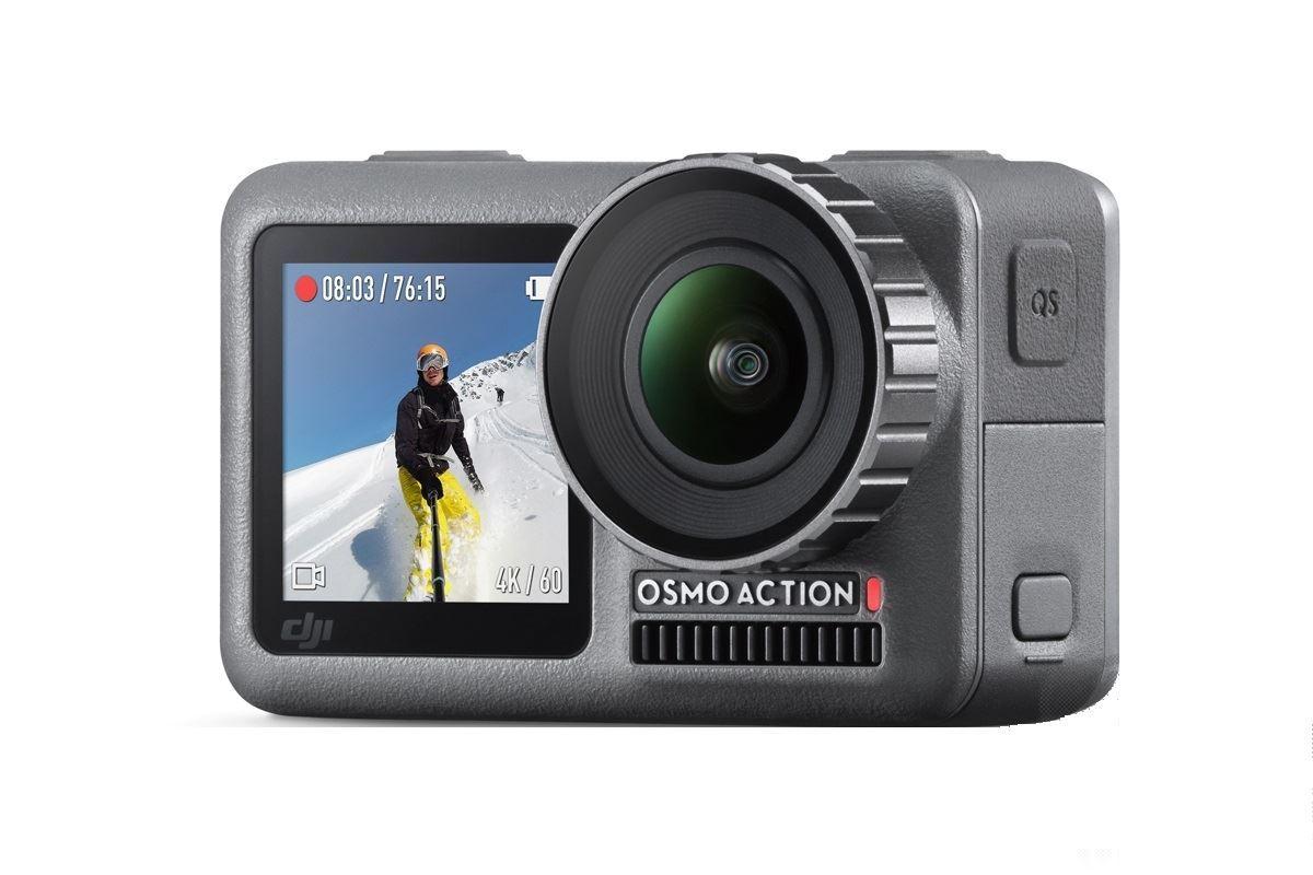 DJI OSMO ACTION - vodotěsná akční kamera  4K/60fps