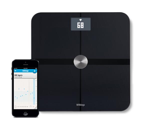 Withings Smart Body Analyzer WS-50 Wifi/BT - Black