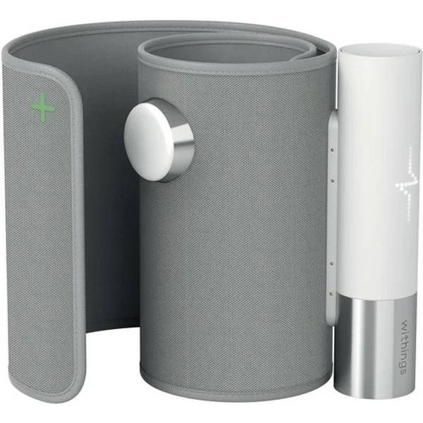 Withings Blood Pressure Monitor Core w Wifi sync, Led screen, ECG sensor, Digital stethoscope - WPM04-all-Inter