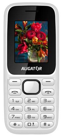ALIGATOR D200 Dual sim bílo-černý (CZ Distribuce)