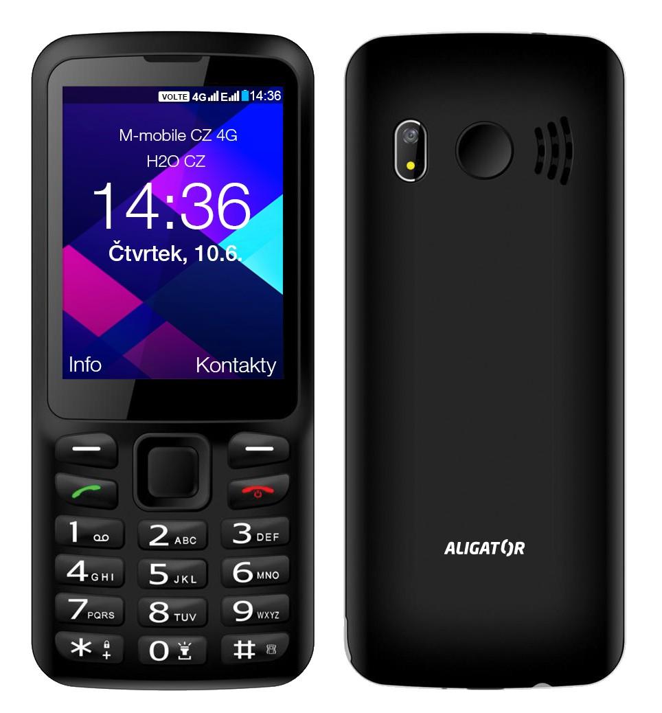 ALIGATOR BS500 Senior černý