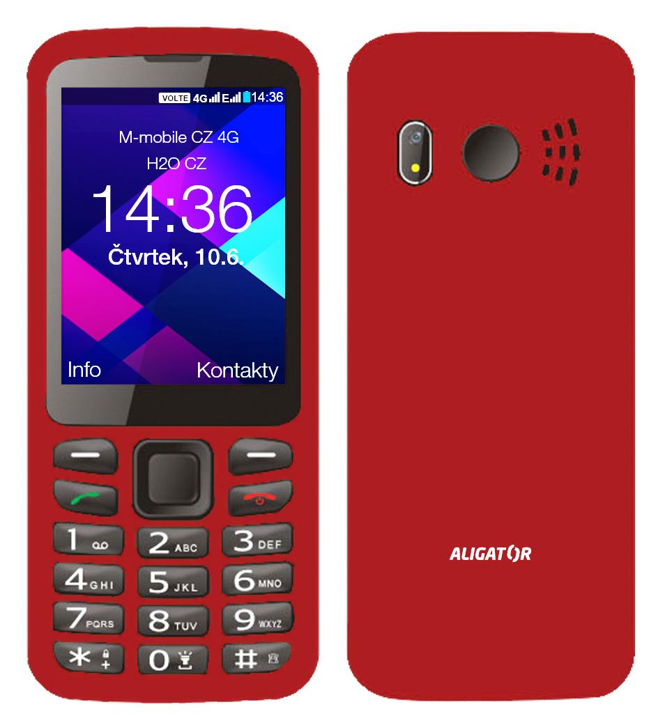 ALIGATOR BS500 Senior červený - ABS500R