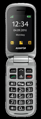 ALIGATOR V650 Senior černo-stříbrný+st.nab