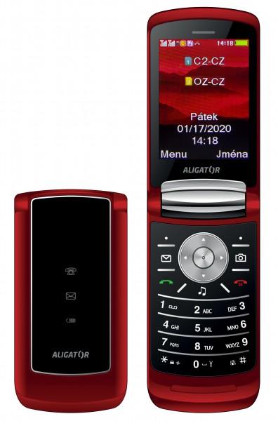 ALIGATOR DV800 Senior DualSim červený