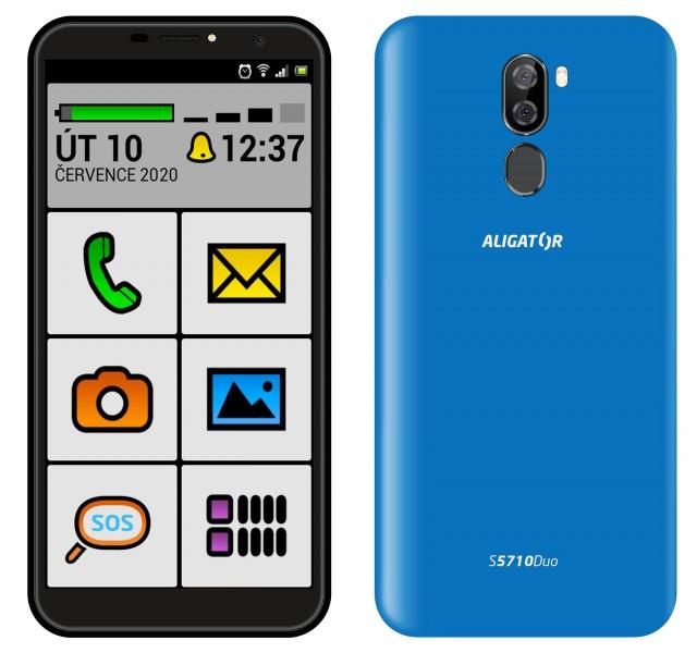 ALIGATOR S5710 SENIOR 16GB modrý