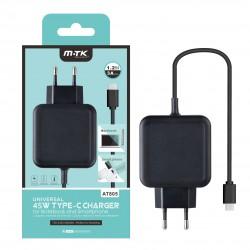 Aligator nabíječka USB-C pro NTB a Mobily 3A černá