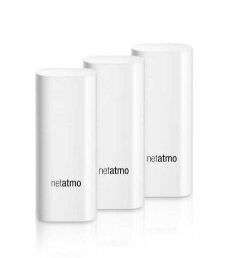 Netatmo Welcome Tags - senzory na okna a dveře ke kameře Welcome