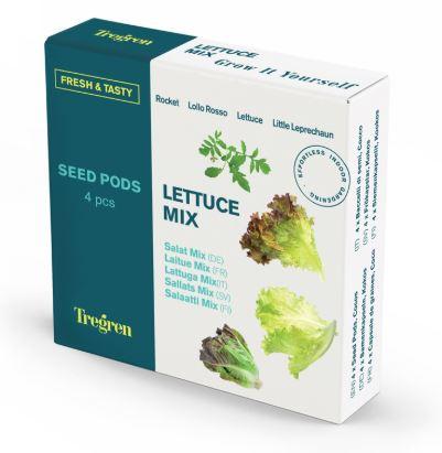 TREGREN Salátový mix (kapsle se semeny, 4 ks) - SEEDPOD89