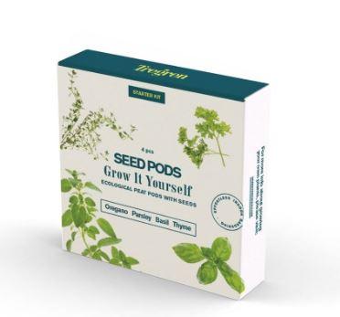 TREGREN Startovní balíček (kapsle se semeny, 4 ks) - SEEDPOD98
