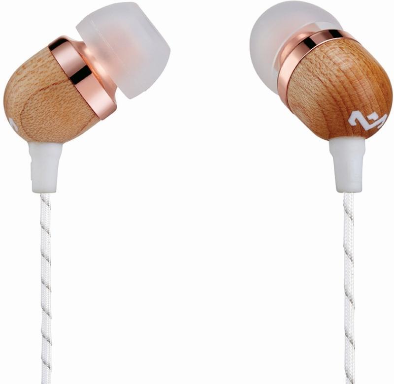 MARLEY Smile Jamaica - Copper, sluchátka do uší s ovladačem a mikrofonem - EM-JE041-CP