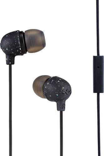 MARLEY Little Bird - Black, sluchátka do uší s ovladačem a mikrofonem - EM-JE061-BK
