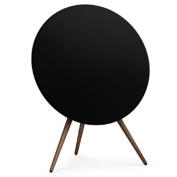 BeoPlay Speakers A9 Black with walnut legs