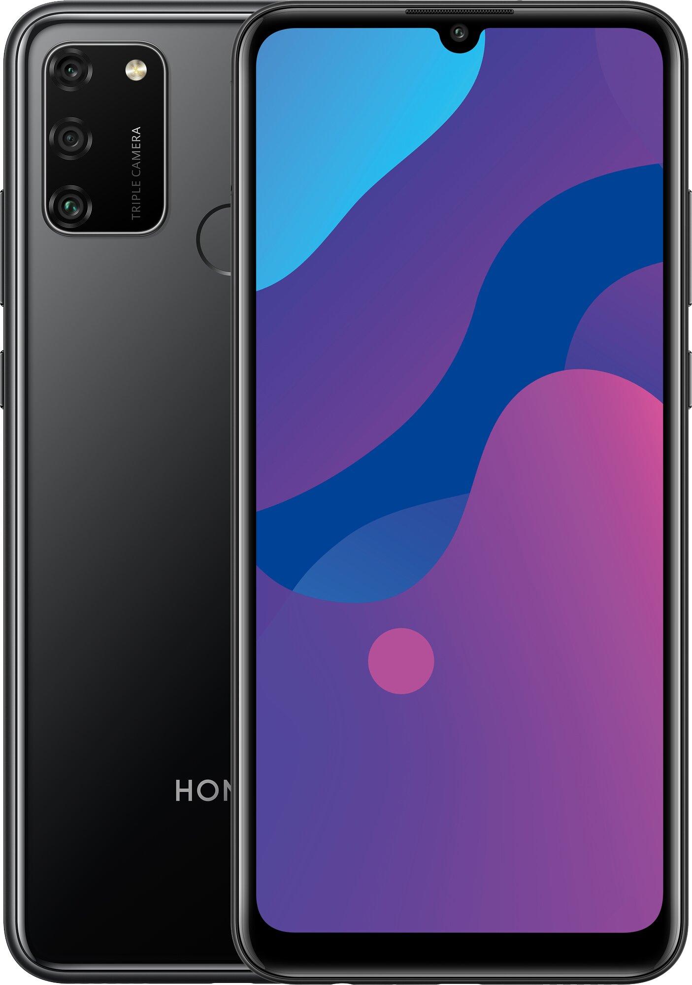 Honor 9A 64GB Dual Sim, HMS, Midnight Black
