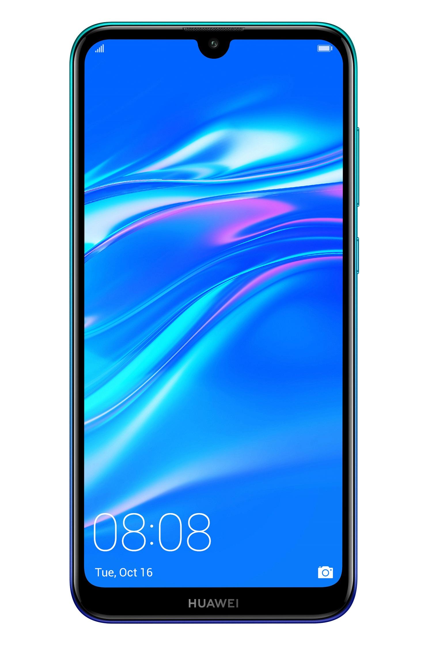 Huawei Y7 2019 Aurora Blue (CZ Distribuce)