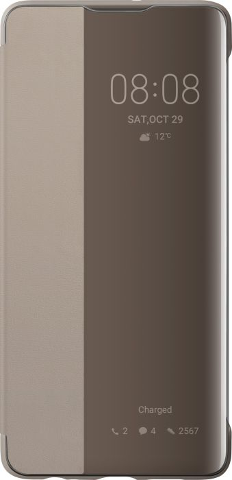 HUAWEI Smart View Flipové pouzdro pro P30 Khaki - 51992864