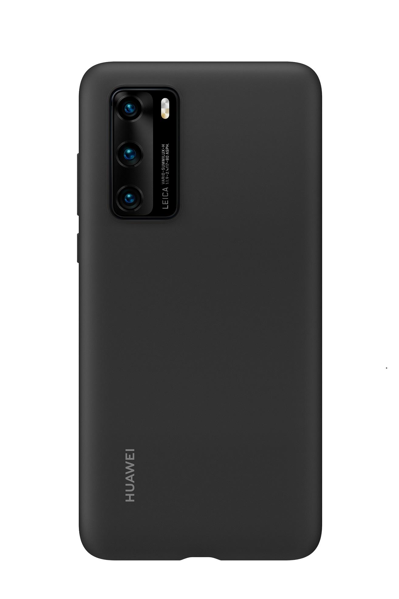 HUAWEI Silikonový Kryt pro P40 Black - 51993719